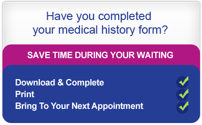 Have you completed your medical history form ?
