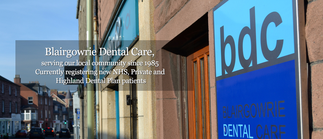 Blairgowrie  Dental Care Outside Premise