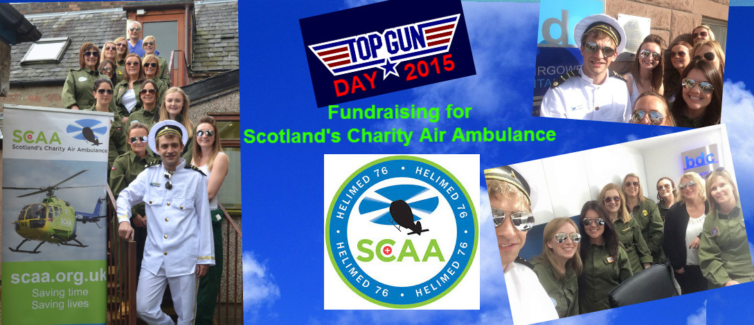 Top Gun Day in aid of Scotland